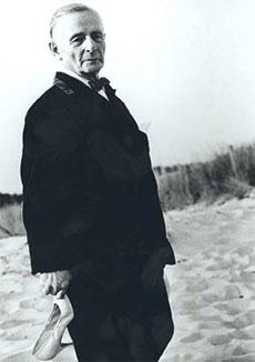 Friedrich Kiesler auf Long Island, 1960er Jahre
