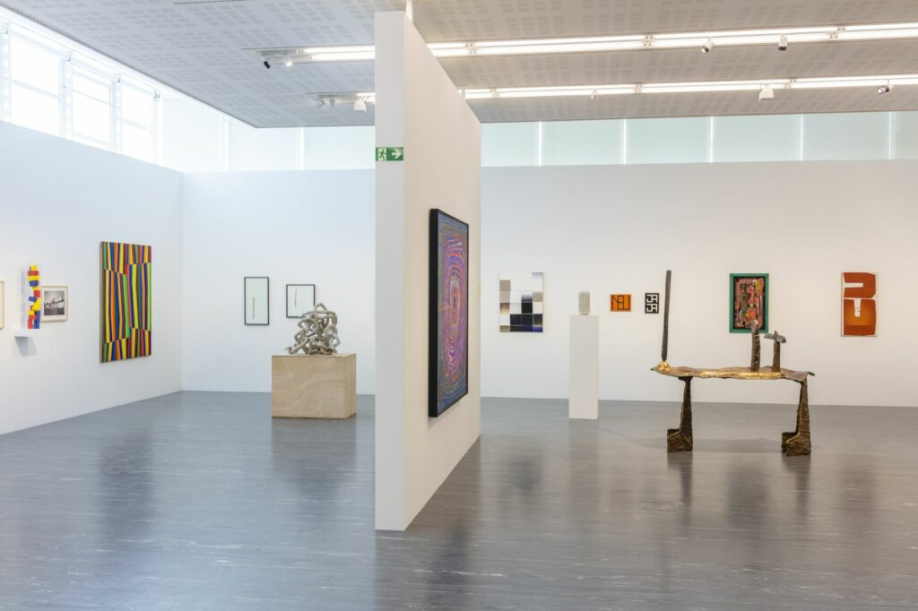"""Exhibition view """"Avant-Garde and the Contemporary. The Belvedere Collection from Lassnig to Knebl"""", Belvedere21, Photo: Johannes Stoll / Belvedere, Vienna"""