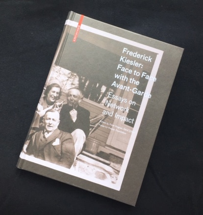 Frederick Kiesler: Face to Face with the Avant-Garde (Cover)