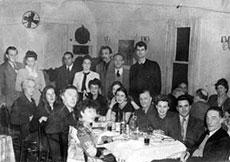 Abschiedsessen für André Breton, New York 1945