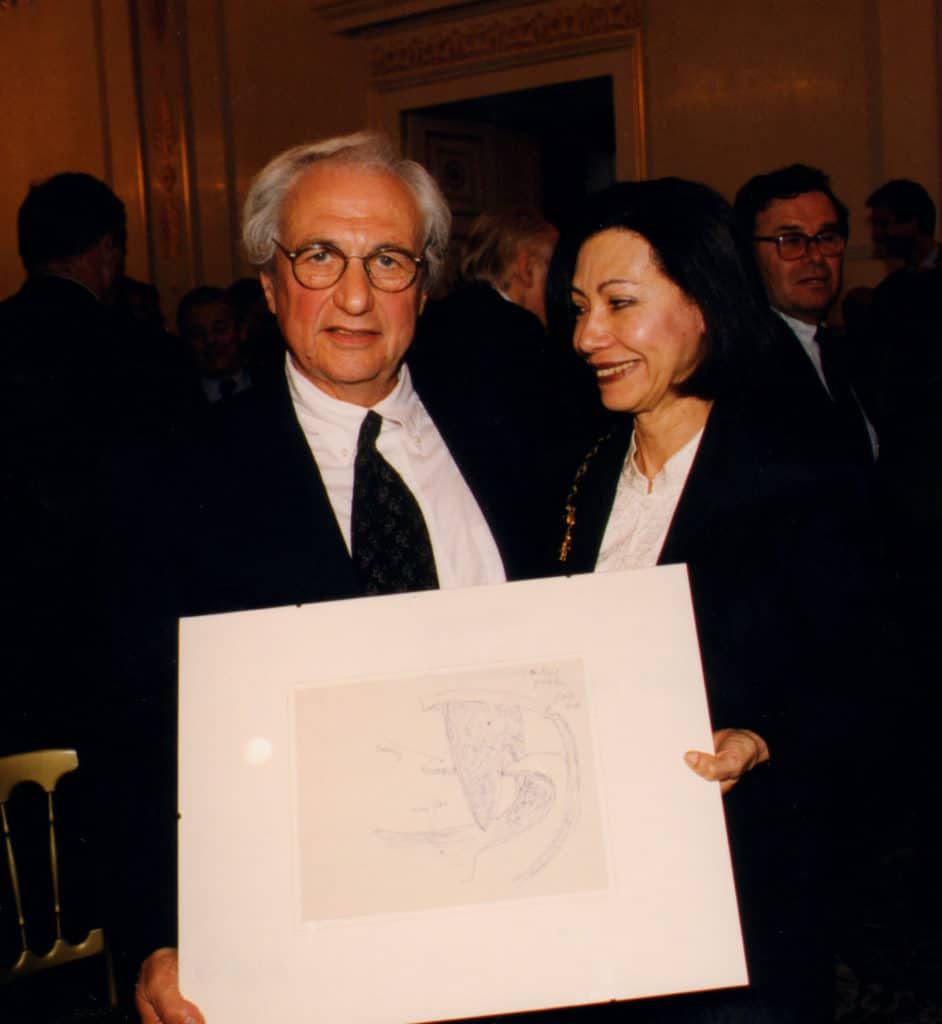 Laureate of the 1st Austrian Frederick Kiesler Prize for Architecture and the Arts: FRANK O. GEHRY