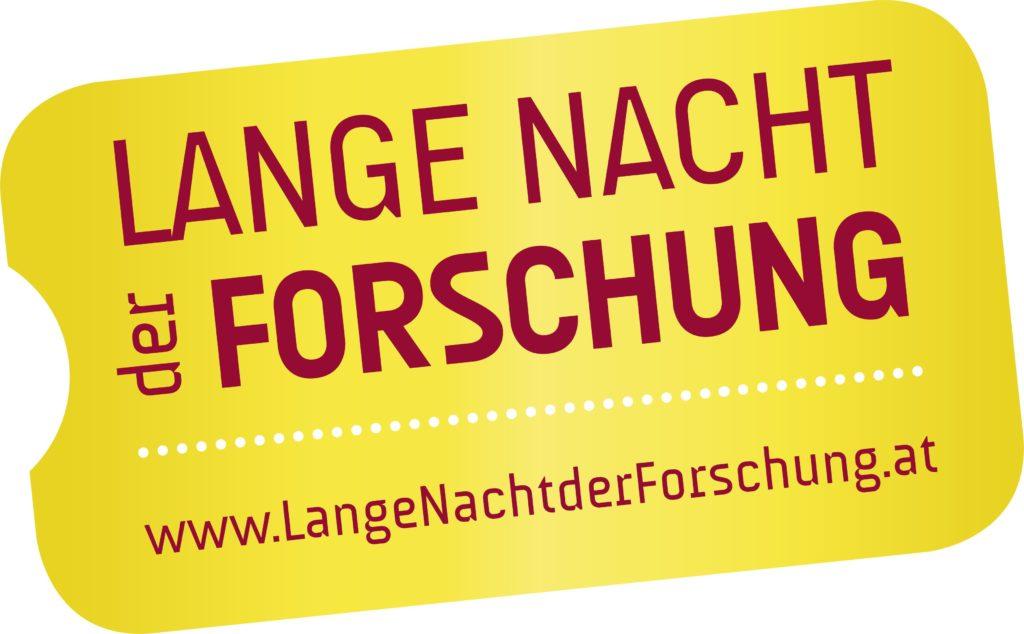 """Logo der """"Langen Nacht der Forschung"""" 2018"""