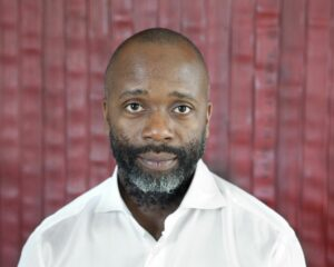 Portrait of Theaster Gates. Image by Sara Pooley. Courtesy Theaster Gates.