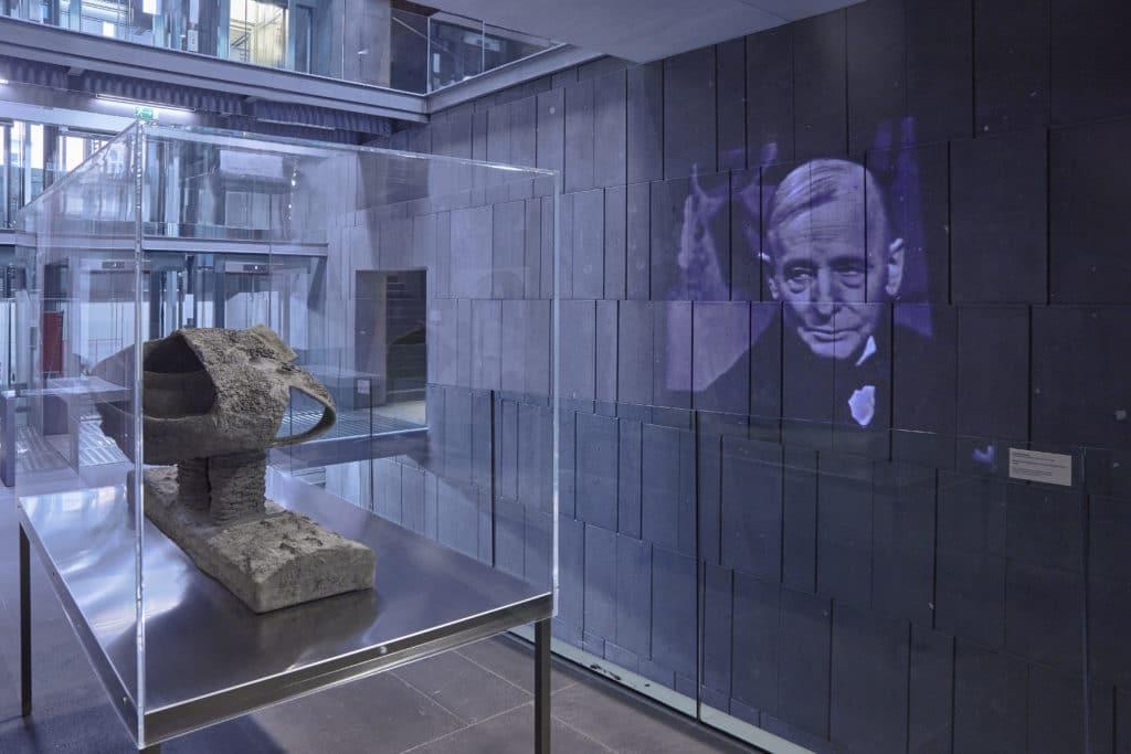 Ausstellungsansicht Friedrich Kiesler. Endless House im mumok, Wien